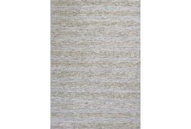 5'x7' Rug-Heather Stripe Ivory