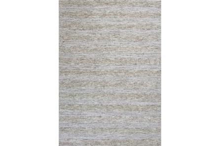 60X84 Rug-Heather Stripe Ivory