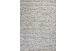 96X120 Rug-Heather Stripe Ivory