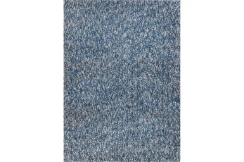 60X84 Rug-Elation Shag Heather Indigo