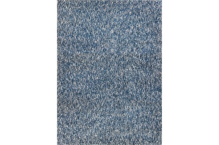 90X114 Rug-Elation Shag Heather Indigo - Main