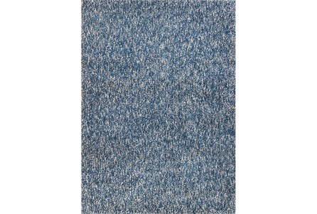 96X132 Rug-Elation Shag Heather Indigo