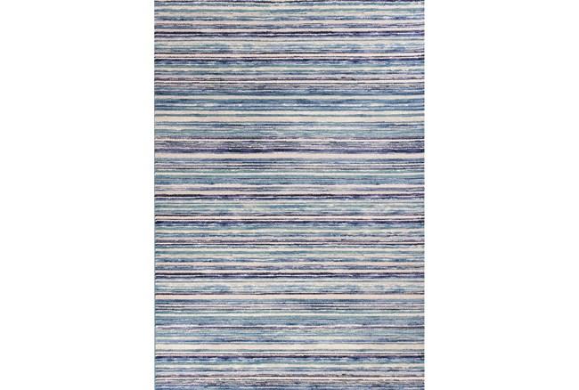 63X91 Rug-Wesley Stripe Blue - 360