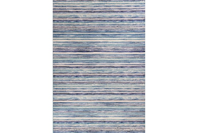 79X114 Rug-Wesley Stripe Blue - 360