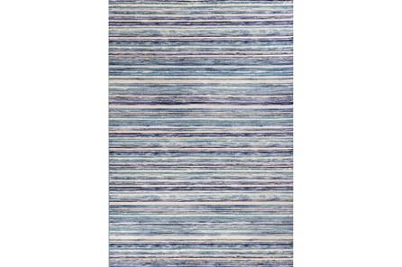 94X134 Rug-Wesley Stripe Blue - Main
