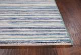 94X134 Rug-Wesley Stripe Blue - Default