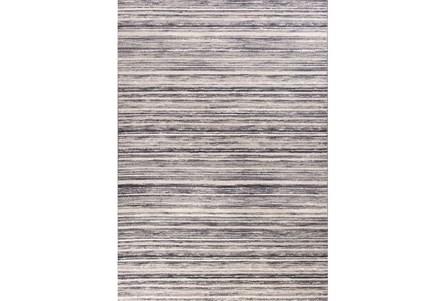 79X114 Rug-Wesley Stripe Grey