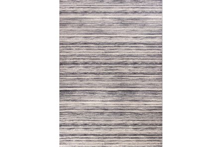 79X114 Rug-Wesley Stripe Grey