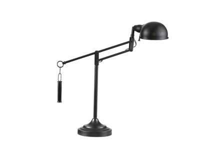 Desk Lamp-Bronze Swing Arm