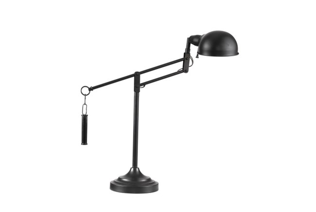 Desk Lamp-Bronze Swing Arm - 360