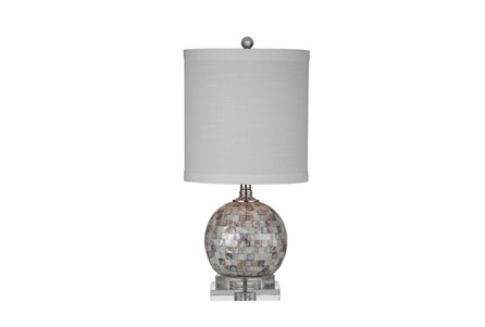 Table Lamp-Mother Of Pearl