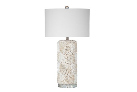 Table Lamp-Shell Flower