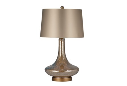 Table Lamp-Mercury Glass Genie