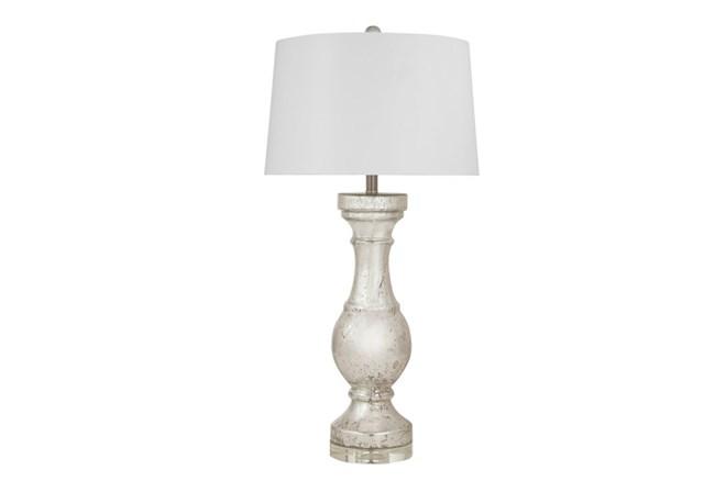 Table Lamp-Mercury Glass Column - 360