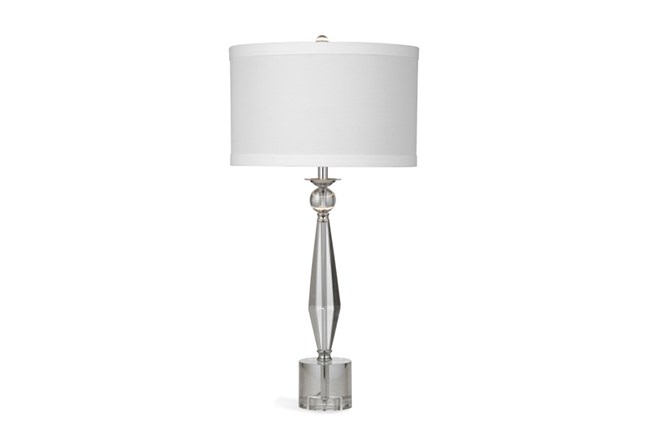 Table Lamp Crystal Prism Living Spaces