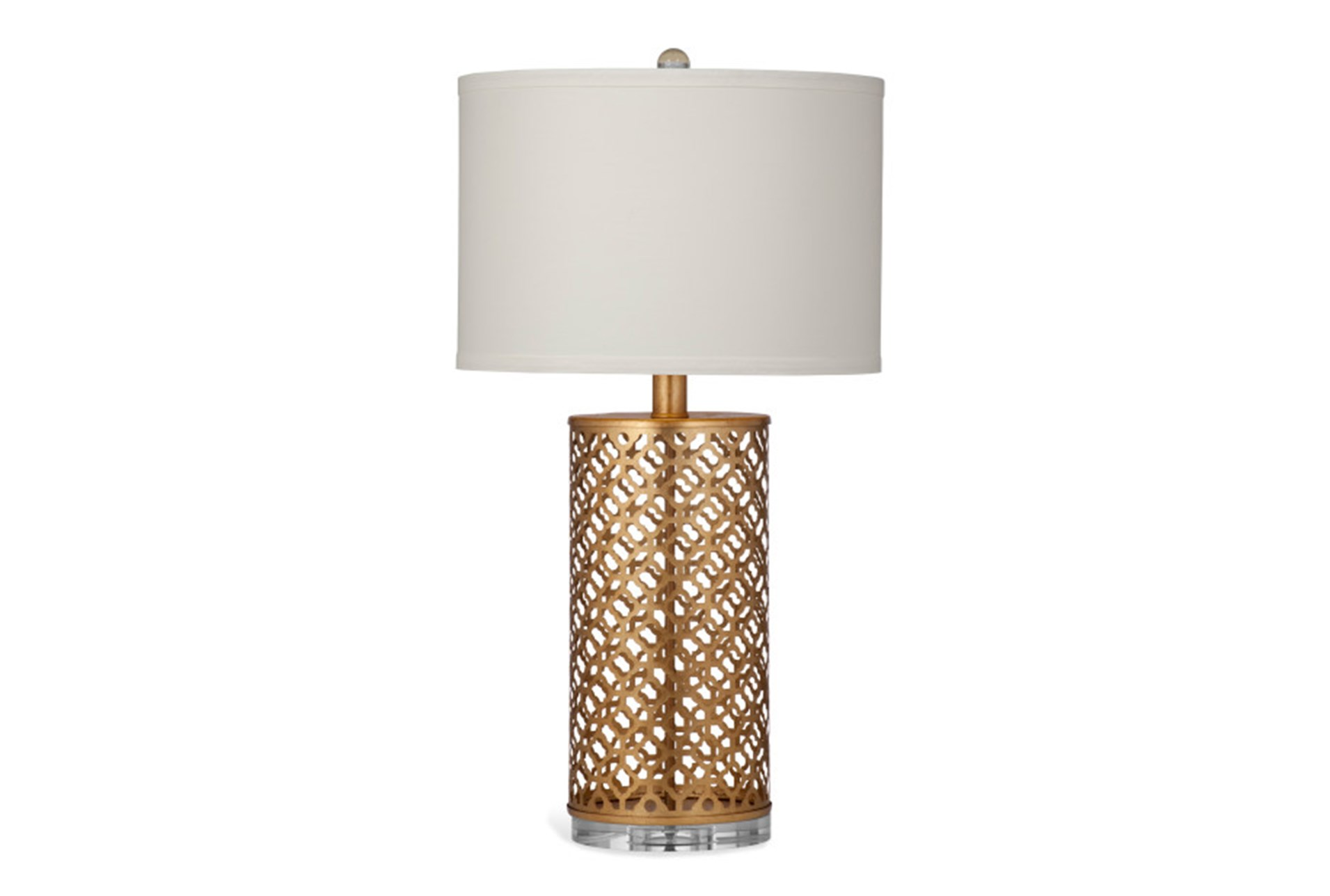 Table lamp gold metal quatrefoil living spaces table lamp gold metal quatrefoil qty 1 has been successfully added to your cart mozeypictures Images