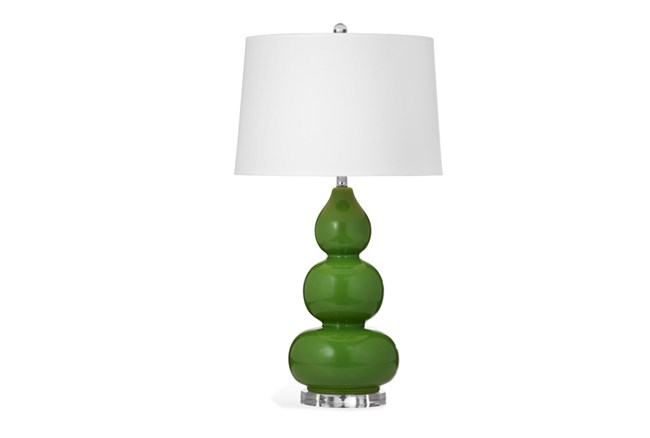 Table Lamp-Green Triple Gord - 360