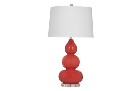 Table Lamp-Coral Triple Gord
