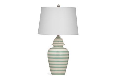 Table Lamp-Mint Stripe