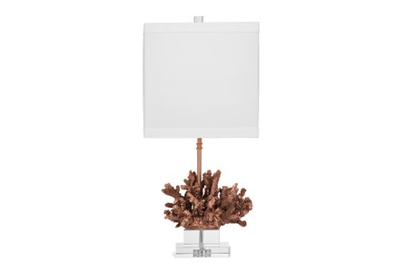 Table Lamp-Gold Coral
