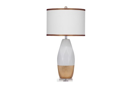 Table Lamp-Gold Dip