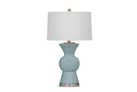 Table Lamp-Sky Blue Tulip