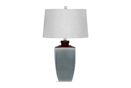 Table Lamp-Grey And Brown
