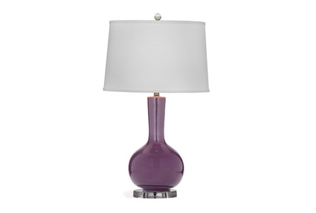 Table Lamp-Plum Bulb