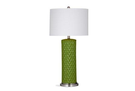 Table Lamp-Kiwi Diamond Column