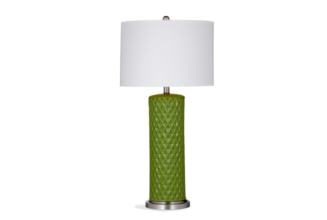 Table Lamp-Kiwi Diamond Column - 360