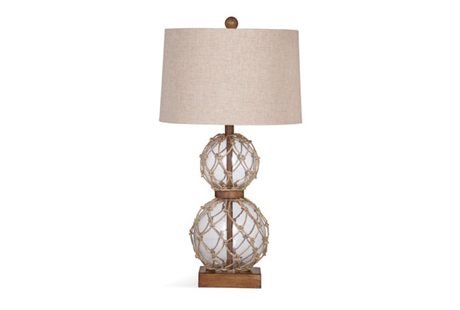 Table Lamp-Rope Net Glass - 360