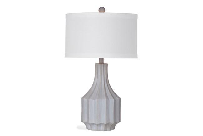 Table Lamp-Concrete Mid Century - 360