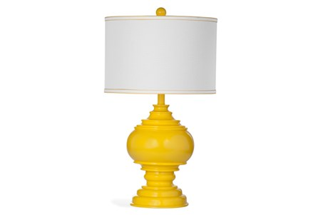 Table Lamp-Yellow Deco