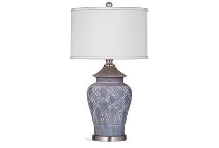 Table Lamp-Grey Wash Vines