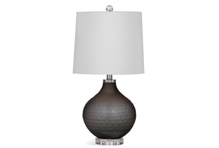 Table Lamp-Graphite Frosted Glass