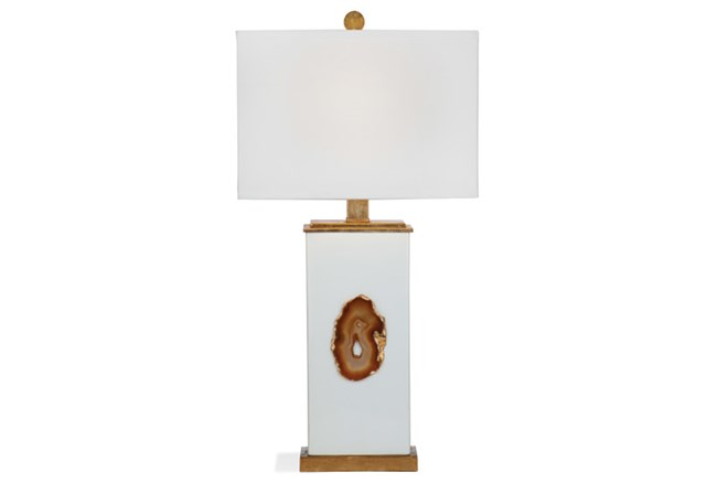 Table Lamp-Copper Agate - 360