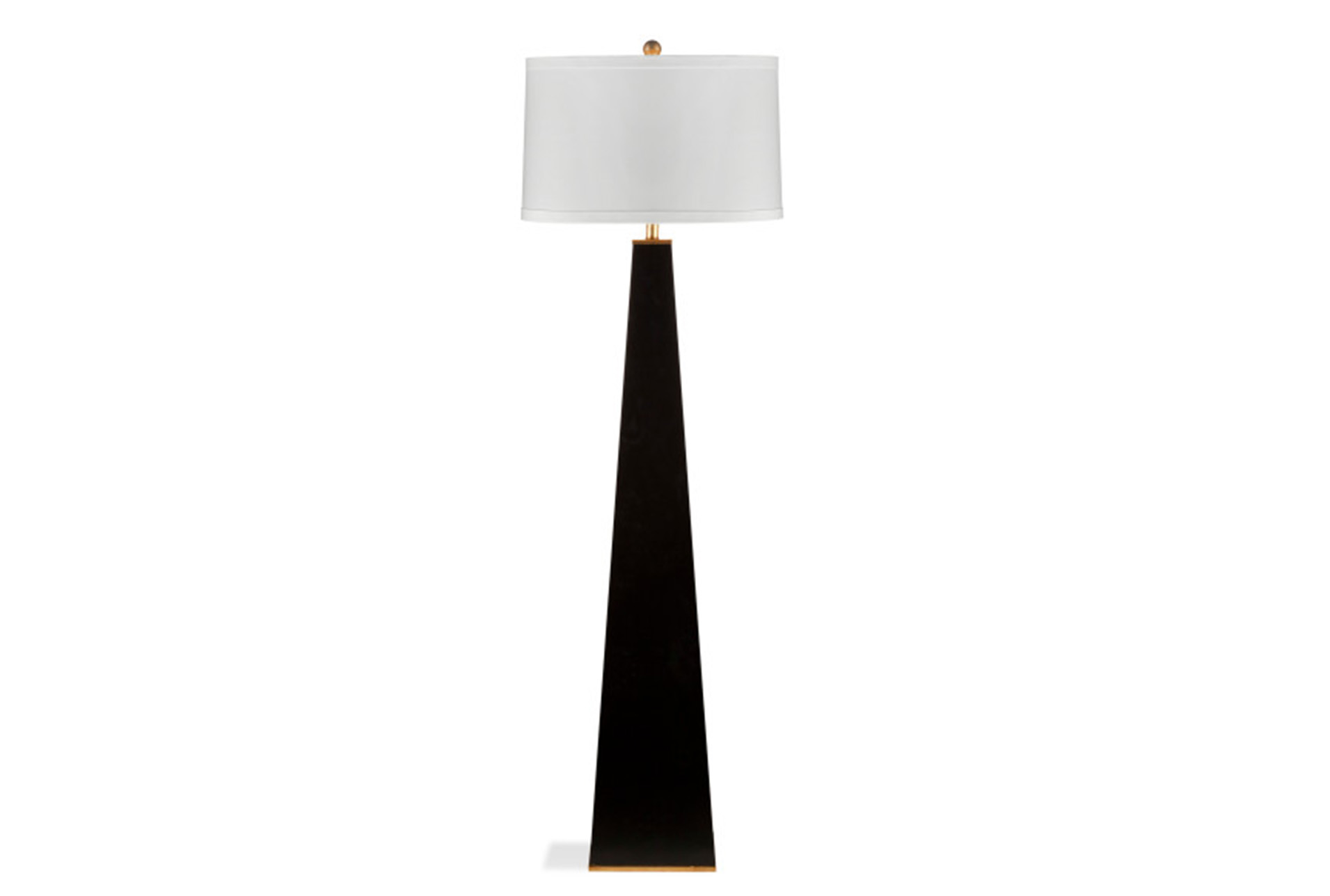Floor Lamp Glossy Black Pyramid (Qty: 1) Has Been Successfully Added To  Your Cart.