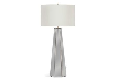 Buffet Lamp-Mirrored Pyramid