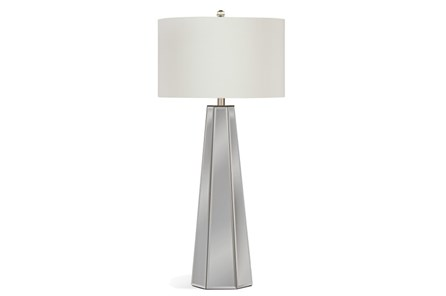 Buffet Lamp-Mirrored Pyramid - Main