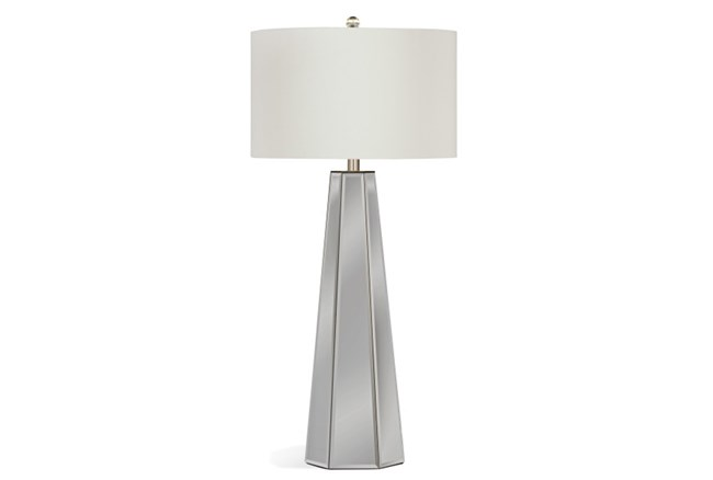 Buffet Lamp-Mirrored Pyramid - 360