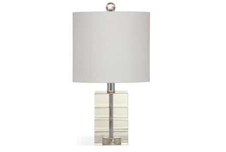 Table Lamp-Crystal Block Petite
