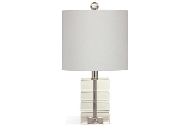 Table Lamp-Crystal Block Petite - 360