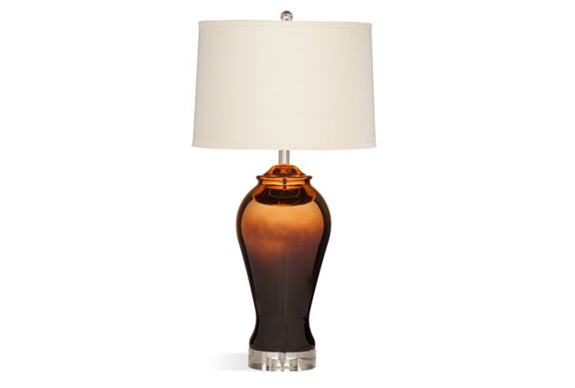Table Lamp-Glossy Bronze - 360