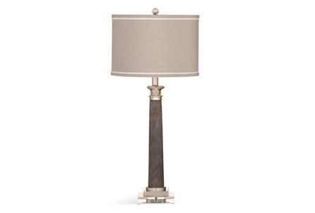Buffet Lamp-Grey Shagreen