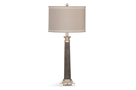 Buffet Lamp-Grey Shagreen - Main