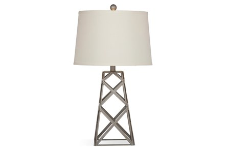 Table Lamp-Metal Tower