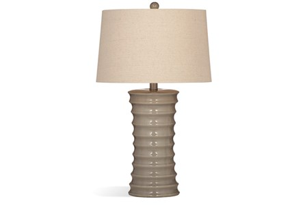 Table Lamp-Grey Hourglass