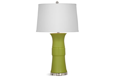 Table Lamp-Lime Banded