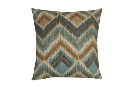 Outdoor Accent Pillow-Spa Peaks 18X18