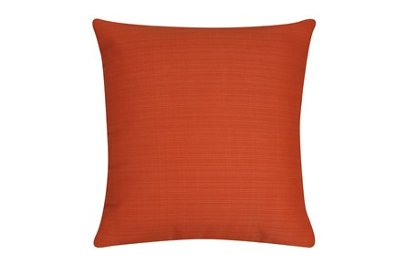 Outdoor Accent Pillow-Melon Solid 18X18 - Main
